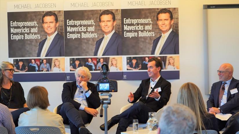 Launch of Michael Jacobsen's book