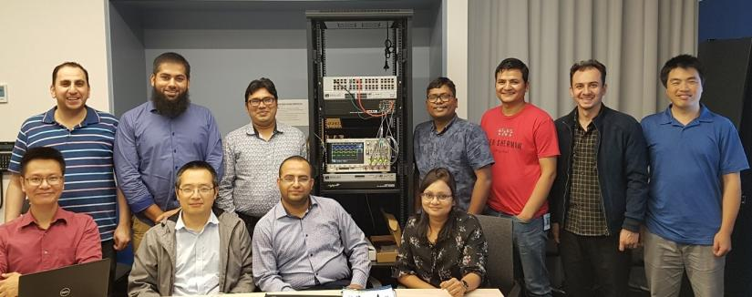 A picture of the electrical power and energy team