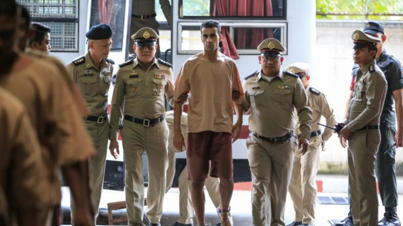 Hakeem Al-Araibi detained in Thailand.