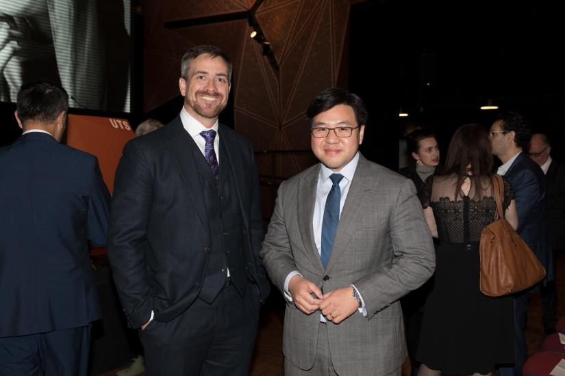 UTS Vice-Chancellor Attila Brungs and former Race Discrimination Commissioner Dr Tim Soutphommasane.