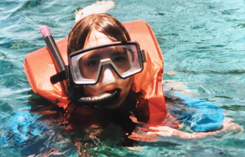 Emma Camp fell in love with the underwater world when she went snorkelling in the Caribbean at the age of seven.