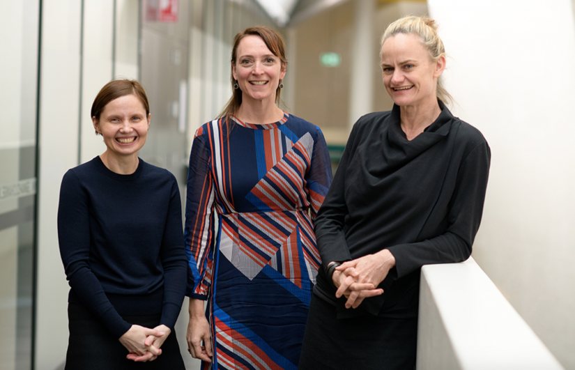 UTS Adrift researchers (left to right), Dr Jacquie Lorber Kasunic, Prof. Martina Doblin and Prof. Kate Sweetapple.