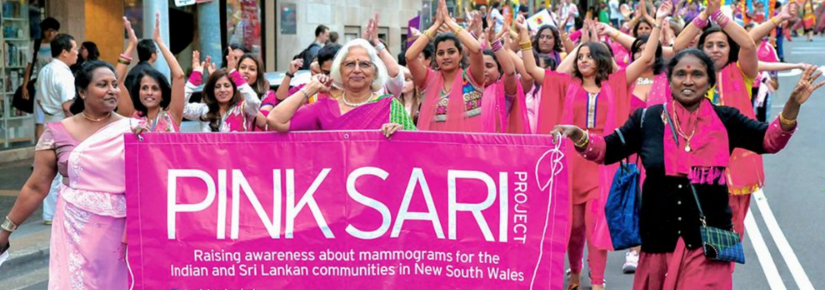 A collaboration between researchers in the UTS School of Communication and the NSW Multicultural Health Communication Service, the Pink Sari project has dramatically increased breast screening rates among Indian and Sri Lankan women in NSW.