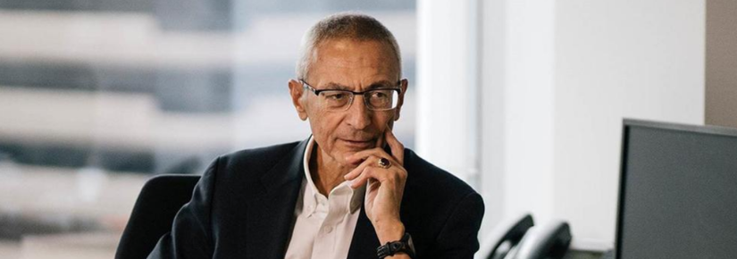 John Podesta, political veteran and adviser to US presidents.