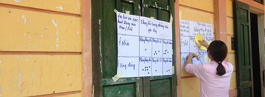 Voting in Vietnem