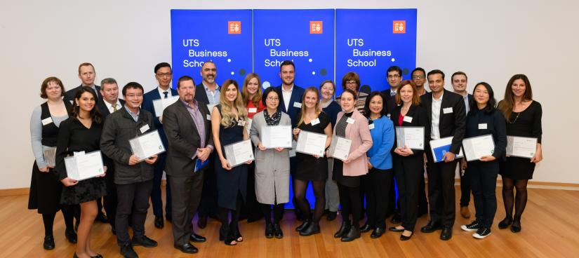 Business - Prize Night Recipients 2018