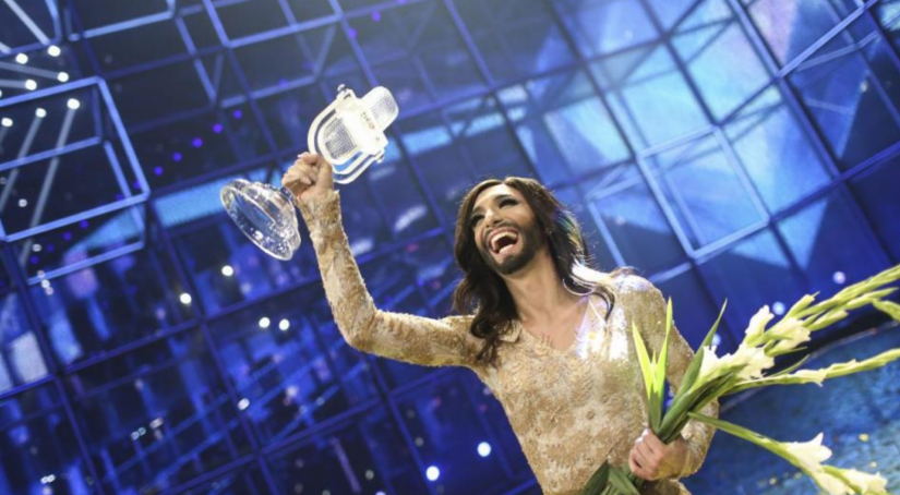 2014 Eurovision Song Contest winner Conchita Wurst from Austria. Image: Eurovision.tv