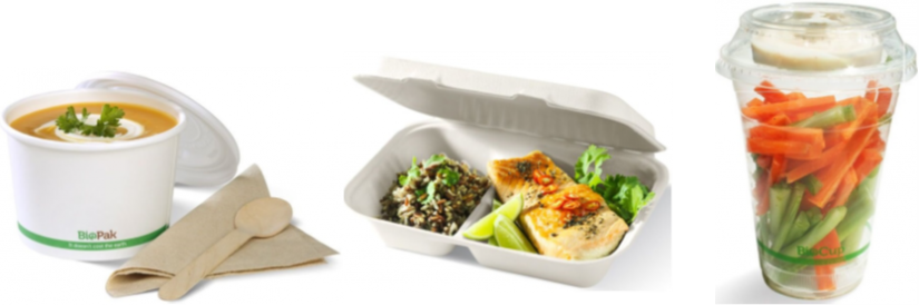 examples of compostable food packaging