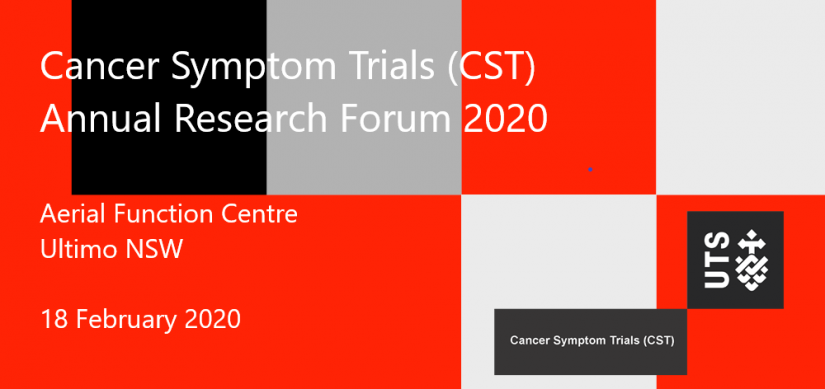 CST Annual Research Forum 2020 banner