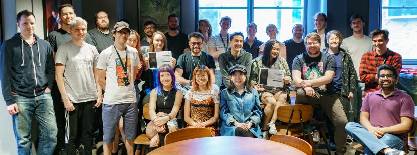 The UTS Animal Logic Academy Cohort