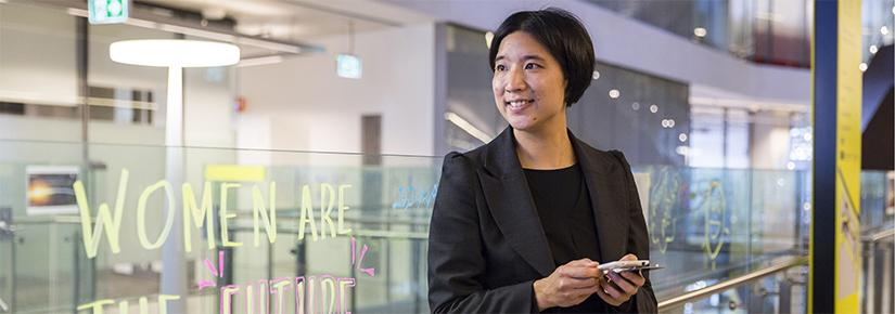 Eva Cheng is the Deputy Director of Women in Engineering and Information Technology