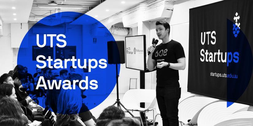 UTS Startups Awards Banner Image