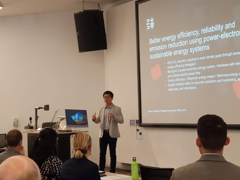Prof Dylan Lu climate presentation