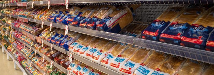bread aisle