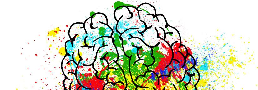Abstract artistic rendering of the brain.