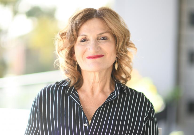 Violet Roumeliotis, UTS alumna and CEO of Settlement Services International
