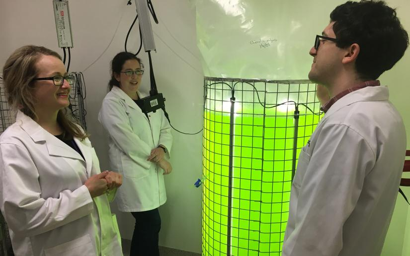 UTS C3 scientists with a bioreactor