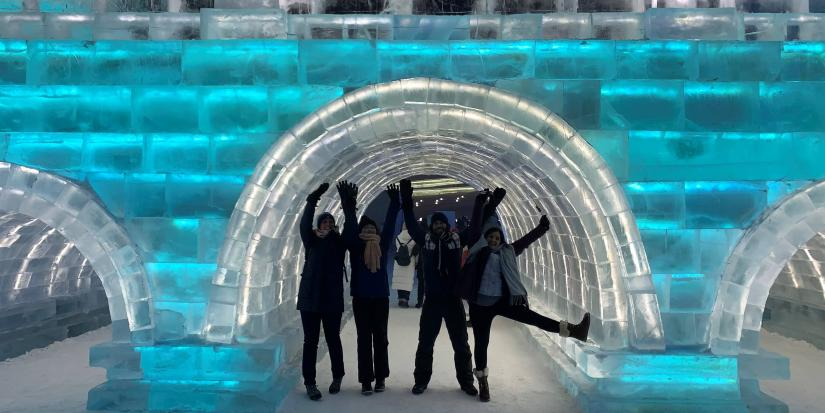 UTS students enjoy the Harbin International Ice and Snow Festival