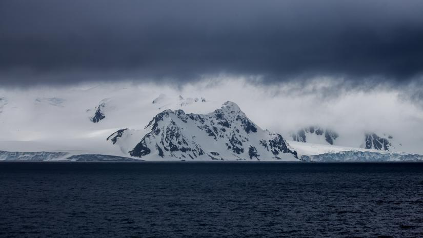 Tip of the Antarctic continent