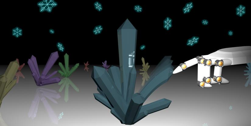 Bending nanodiamonds
