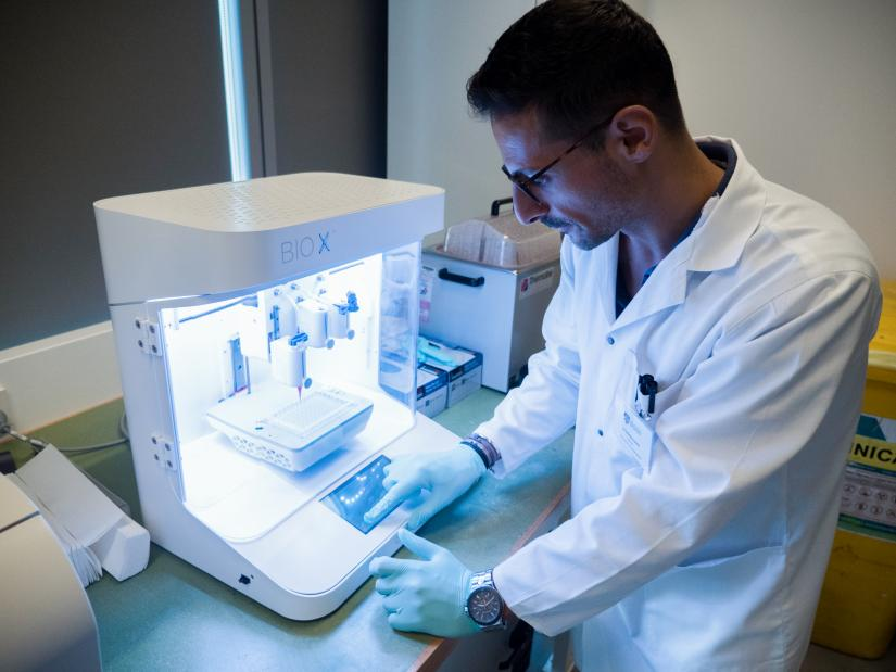 Dr Carmine Gentile use 3d bioprinting to repair human hearts