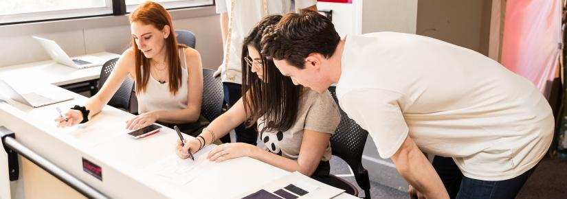 The Bachelor of Creative Intelligence and Innovation pairs students with industry partners to solve real world problems.
