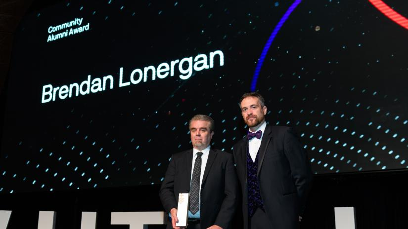 Brendan Lonergan alumni awards