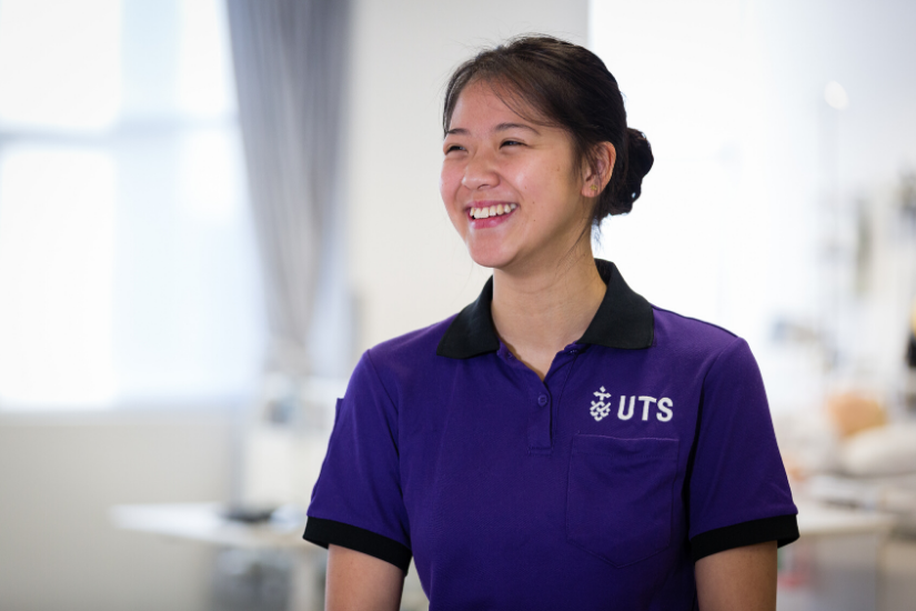 UTS is ranked first in Australia for Nursing and Midwifery