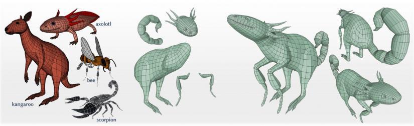 Animals in 3D graphics