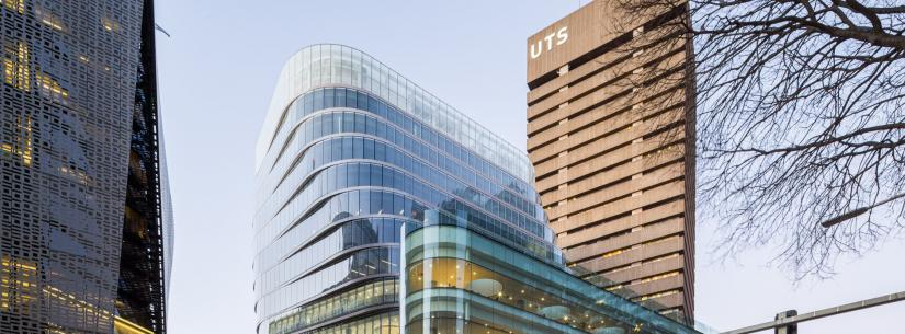 UTS Central Building with Tower in background