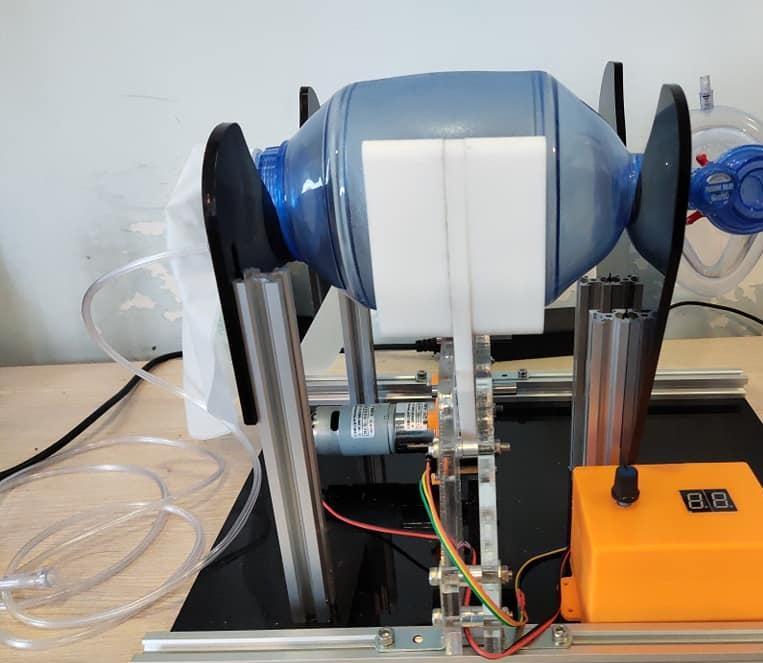 A low cast ventilator