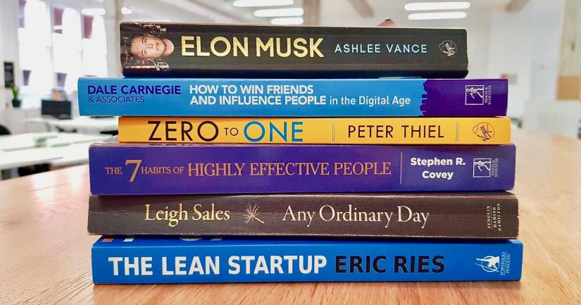 Six books to start up