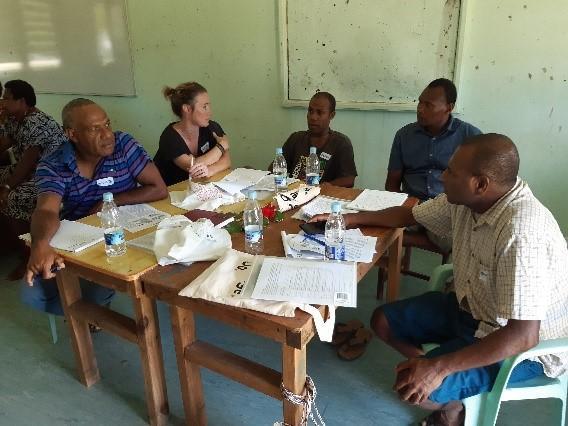 Vanutu Workshop attendees