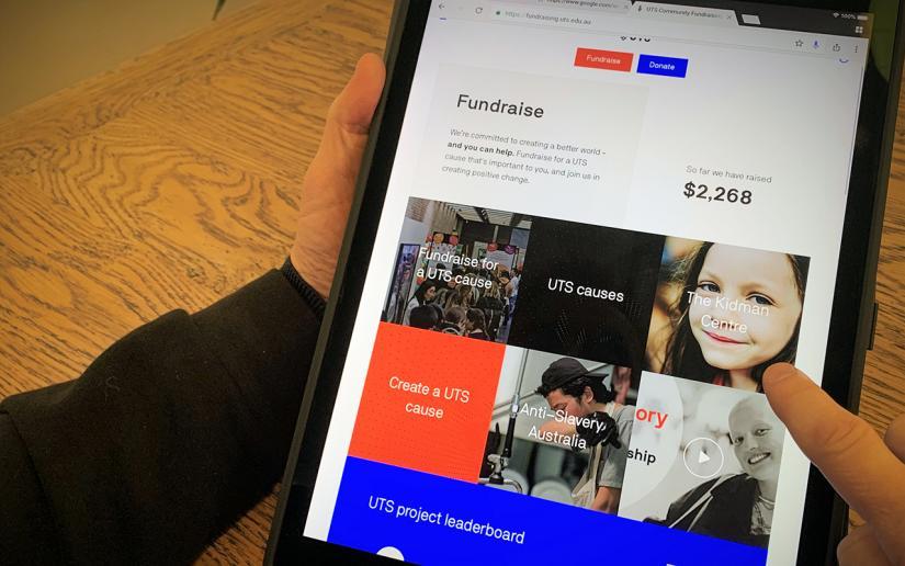 UTS Community Fundraising Hub