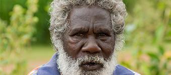 Indigenous Australian man