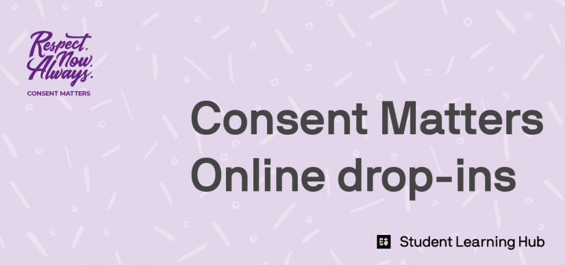 Consent Matters online drop-ins