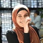 Noor, a refugee student at UTS.