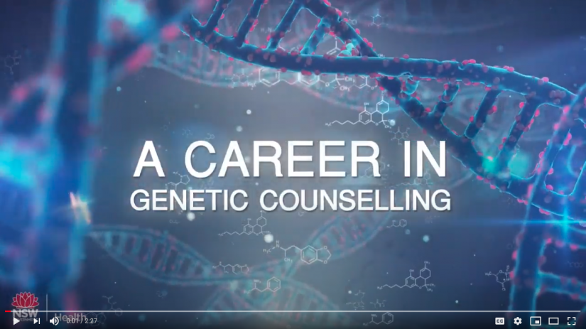 Video thumbnail image - A Career in Genetic Counselling