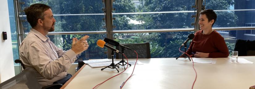 Associate Professor Tamson Pietsch interviews Vice-Chancellor Attila Brungs for the podcast, 'The New Social Contract'.