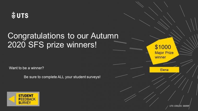 SFS Autumn 2020 Prize winners