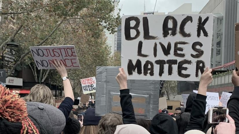 BLM banner