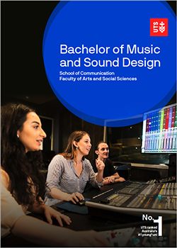 bachelor music sound design guide cover