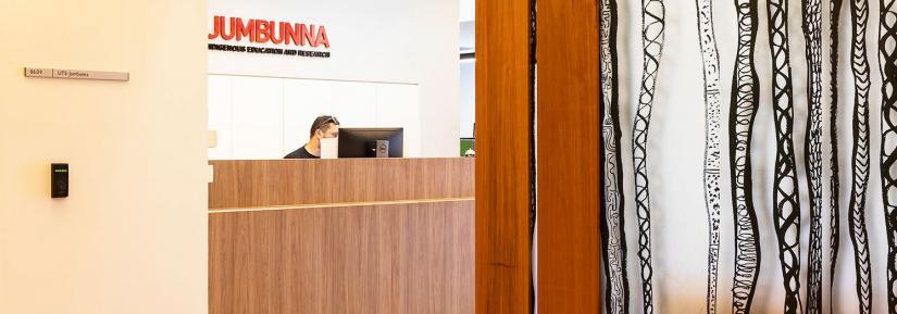 The refurbished Jumbunna entry