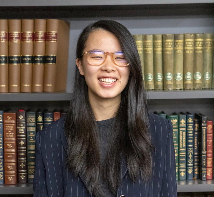 Law student Margaret Cai