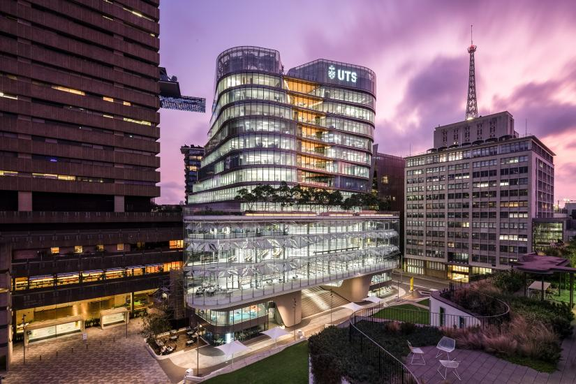UTS City campus, the Tower, UTS Central and Building 10