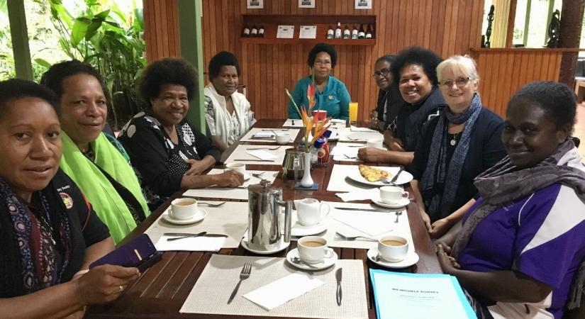 WHOCC Dinner with PNG Midwives and Nurses