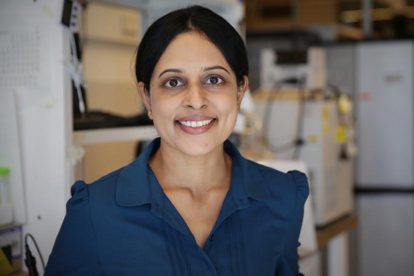 Portrait of Dr Gayathri Naidu by Leilah Schubert