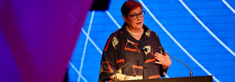Senator Marise Payne launches cyber and critical tech strategy