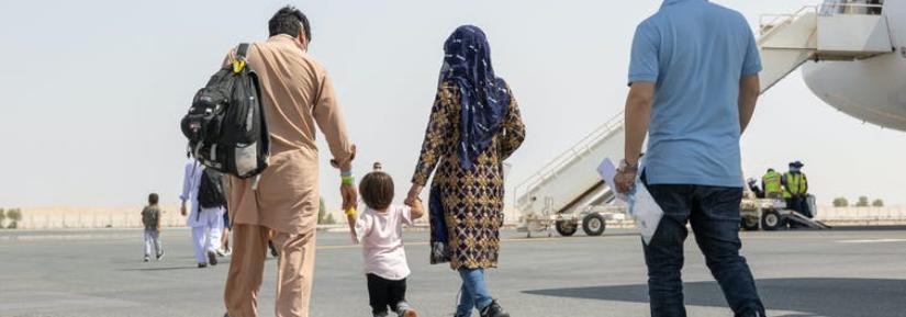 Afghan refugees arrive in Australia