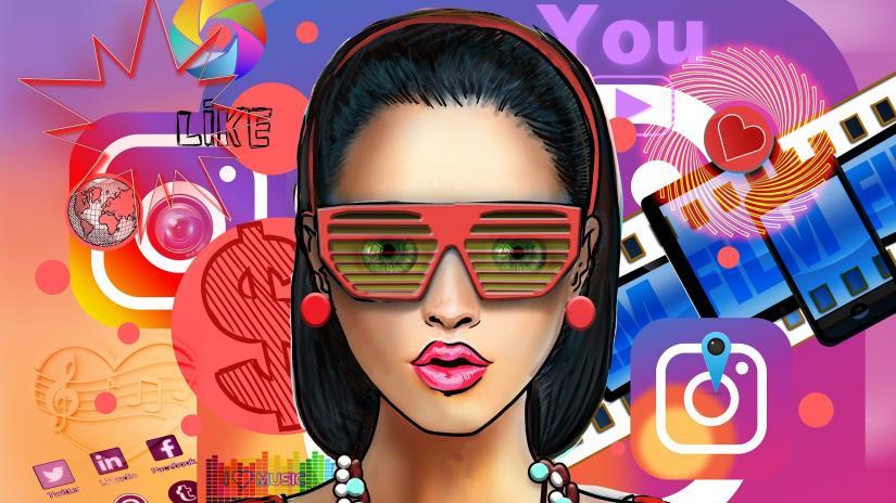 social media influencer graphic